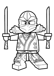 Lego Coloring Pages Printable Free L