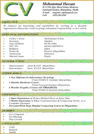 Chronological Resume Example A Lists Your Most Recent Format 2015