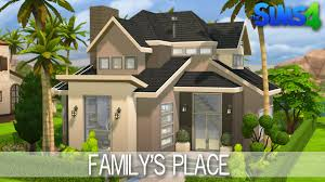 Small Picture The Sims 4 House building Familys Place Speed Build YouTube