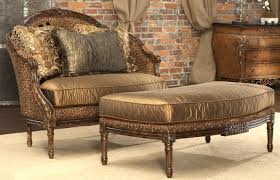 Home Furnishings Leopard Print Settee Luxury Fine Home Furnishings And High Quality