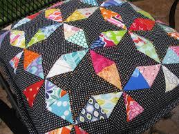 Seeing Kaleidoscope Patterns Interesting Christmas In July Kaleidoscope Pillow 48handworks