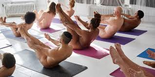 Nude yoga classes pictures