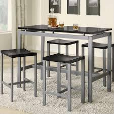 counter height rectangular table sets extraordinary coaster altus and stool set modern home ideas 7