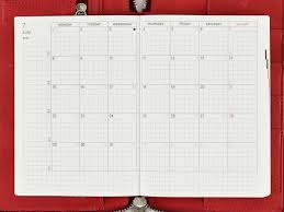 mothly calendar monthly calendar hobonichi techo planner book buying guide