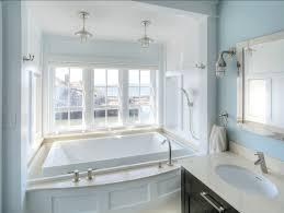 coastal lighting coastal style blog. Coastal Beach House Bathroom With Nautical Lights Lighting Style Blog