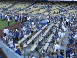 Los Angeles Dodgers Club Seating At Dodger Stadium