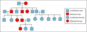Library Of Michigan Pedigree Chart Genetics Fundamentals Of Biology Biology Mit