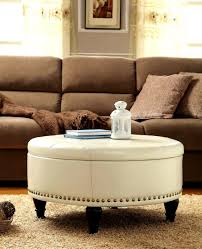 great round upholstered coffee table with kitchen handsome making upholstered coffee table tables shelf