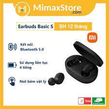 Tai nghe Bluetooth Xiaomi Mi True Wireless Earbuds Basic S - ZBW4502GL -  Hàng Chính Hãng - Bản Quốc Tế - Digiworld - Tai nghe Bluetooth nhét Tai
