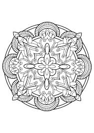 Mandalas Coloriages Difficiles Pour Adultes Justcolor