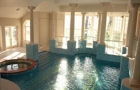 Exercise: The house includes five swimming pools, one of which is attached  to the