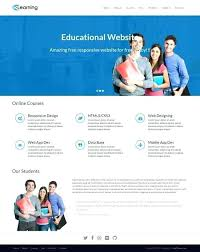 Free Web Templates For Employee Management System Learning Management System Website Template Academy A Theme