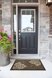 black front doorBlack Front Doors With Glass Examples Ideas  Pictures  megarct