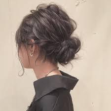 普段もパーティーもアップヘアスタイルできちんと感 Hair