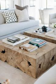 47.5 x 31.5 x 16 h white glove service required please whitman coffee table. Side By Side Burl Wood Coffee Tables Transitional Living Room