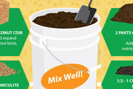 how to make your own diy potting soil for your garden