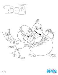 Small Picture Rio 2 nico pedro coloring pages Hellokidscom