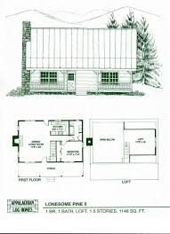 Bi Level House Plans  Tiny HouseLarge Log Cabin Floor Plans