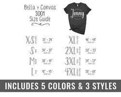 Bella Canvas 3001 Size Chart Bella Canvas Mockup Tshirt Size Chart Knotted Shirt Mockup Flatlay Mockup Unisex