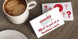 What To Put On A Business Card Essential Print Services