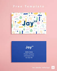 Indesign Business Card Template Indesign Business Cards
