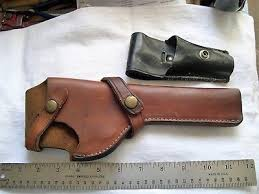 Vintage Brauer Bros Leather Holster H32 R6 Nice Small Jay