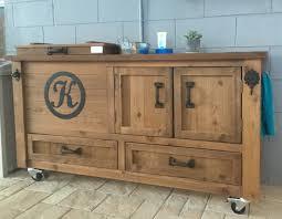 Rustic Kitchen Sideboard Rustic Cooler Cabinet Outdoor Bar Bar Cabinet Sideboard Buffet