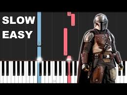 The mandalorian (main theme) sheet music is available for piano, guitar, bass trombone and 36 others with 7 scorings and 2 notations in 7 genres. 22 The Mandalorian Theme Slow Easy Piano Tutorial Youtube Piano Tutorial Easy Piano Learn Music Theory