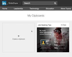 slede share introducing clipping on linkedin slideshare