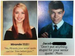 Senior Quote Delectable The 48 Most Hilarious Senior Quotes From High School Yearbooks