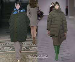 kenzo fall winter 2017 2018 fashion trends khaki puffer coats