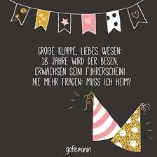 20 Der Besten Ideen Für Geburtstagssprüche Zum 18 Geburtstag Beste