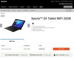 sony xperia z4 price. xperia z4 tablet pre-order_2 sony price u