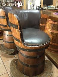 wine barrel bar plans. Modren Plans Whiskey Barrel Bar Stools Made From Wine Barrels Pertaining To Plans 0 On