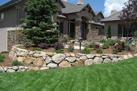 retaining wall designed by accent landscapes backyard retaining wall design