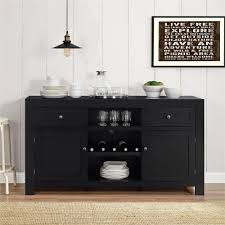 dining room sideboards and buffets. Hadley Black Buffet With Wine Storage Dining Room Sideboards And Buffets G