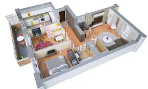 floor plan 3d. 3D Floor Plans Plan 3d A