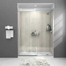 x 72 in frameless sliding shower door
