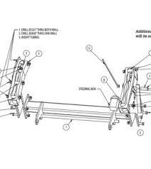 snowdogg mount parts snowplowsplus snow plow spreader parts snowdogg part 16064215 mount md jeep wrangler 97 06