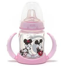 Nuk First Choice <b>Disney</b> Mickey Minnie <b>Baby</b> Feeding Bottle <b>Learner</b> ...