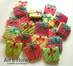 christmas present cookies. Exellent Christmas Present Cookies Throughout Christmas Cookies