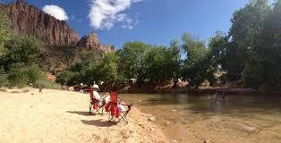 Zion park campground