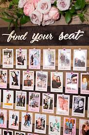This Diy Photo Seating Chart Display Is The Absolute Cutest