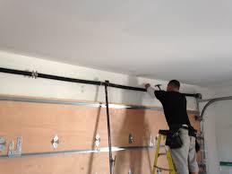 how to replace garage door springGarage Door Using Outstanding Garage Door Torsion Springs Lowes
