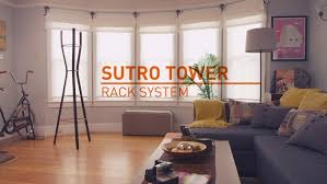Sutro Tower Coat Rack A Sutro Tower for your living room Mission Mission 30