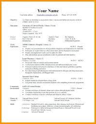 Resume Types Mesmerizing Types Of Resumes Samples Resume Types Of Resumes Examples Format