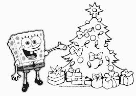 Small Picture Spongebob Christmas Coloring Pages ngbasiccom