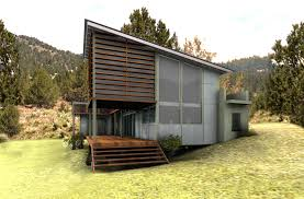 Green House Plan SiteFront view