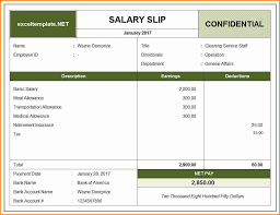 Pay Statement Template 24 salary statement template Simple Salary Slip 1