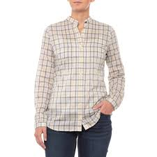 Barbour Cotton Shirt Long Sleeve For Women